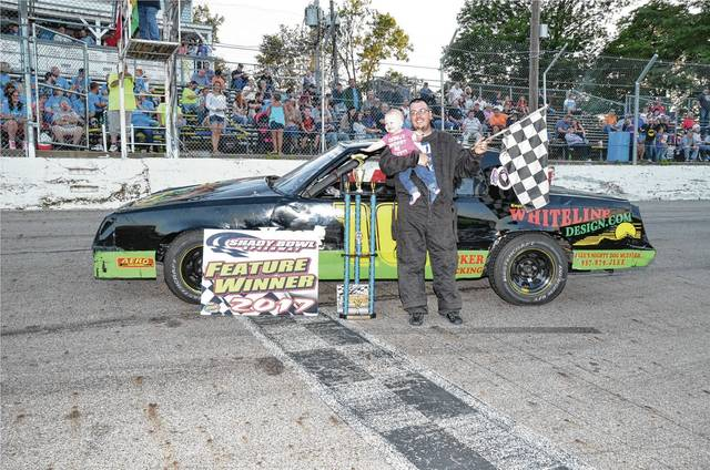 Zack Doolin (pictured) won the Hensel Memorial at Shady Bowl on Saturday.