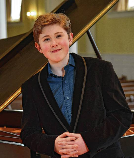 14-year-old prodigy pianist Gavin George will perform Oct. 7 with the Springfield Symphony Orchestra.