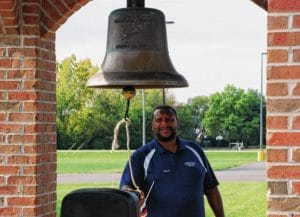 Bells ring out at Freedom Grove