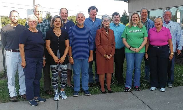 Board members of the Champaign Family YMCA are, from left, Andrew Donahoe, Mary Lee Gecowets, Dennis Serie, Beth Harrigan, Joe Timm, Mike Henson, Mark Westfall, Chris Phelps, Phillip Edwards, Jill Steinmetz, Marc Stadler, Martha Baldosser and Tim Kemper.
