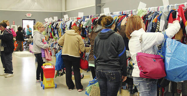 A Pay It Forward Kids Sale is shown in the photo above. The 2017 version will be held Saturday, Sept. 23, from 9 a.m. to noon, offering families with children a wide selection of affordable, new and gently used infant, children's and junior size clothing and shoes, toys, maternity items, and gear such as strollers, bedding and bikes.