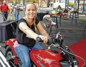 Urbana woman wins motorcycle in CBC contest