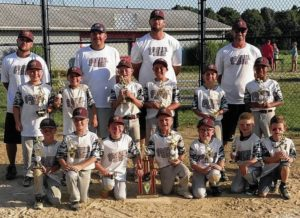 Johnstown 8u Rec allstar tournament champs
