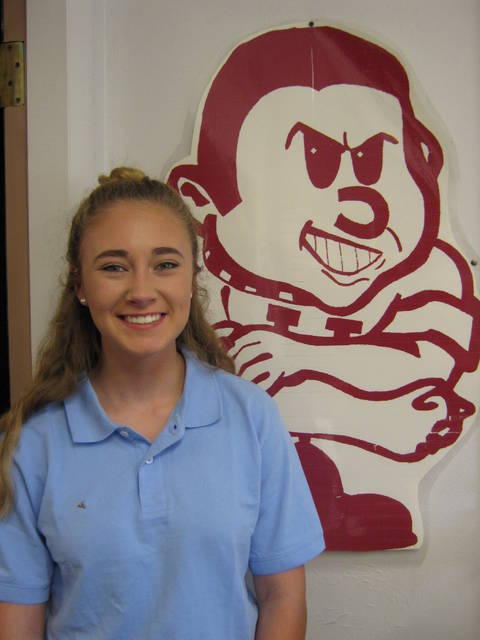 Senior Kristin Lewis is an Urbana High School Student of the Month.