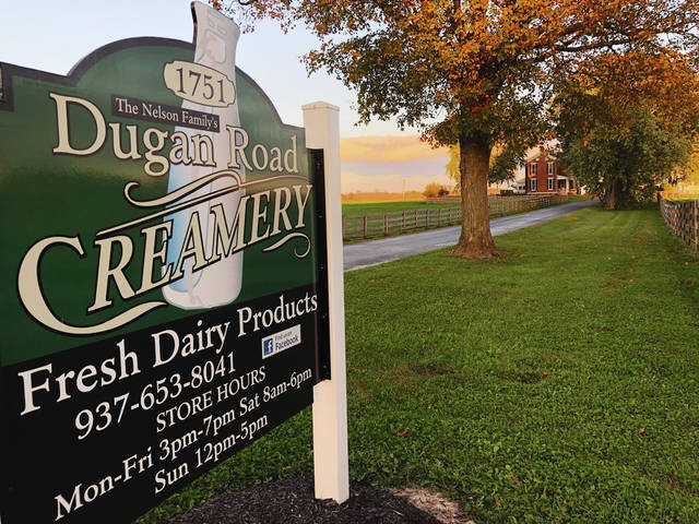 Dugan Road Creamery is located just southeast of Urbana on Dugan Road and has a retail shop down the farm's lane.