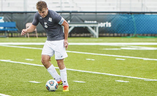 UU's Harry Tamplin (pictured) has been named first-team All-MEC in men's soccer.