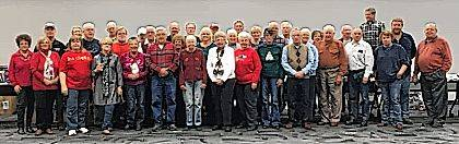 This photo is of the volunteers of Champaign County Community Christmas.