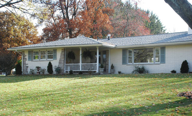 John and Cindy Zugaro own this home at 945 Bon Air Drive. It is one of 5 homes on the 2017 Cancer Association of Champaign County Candlelight Tour of Homes on Dec. 2.