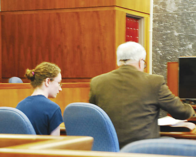 Donovan A. Nicholas appeared in the adult court for the first time Tuesday after a Champaign County grand jury indicted him for murder and aggravated murder last week. Pleas of not guilty and not guilty by reason of insanity were entered on Nicholas' behalf.