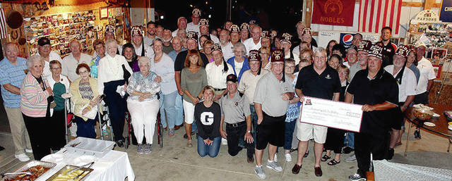 "The Champaign County Shrine Club recently celebrated quite a milestone in one of their major fund-raisers for the ""Shriner Hospitals for Children."" The collecting of aluminum cans, since 1985, has now allowed the local Shrine Club to donate over $800,000 to the hospitals. The Shriners send a big ""THANK YOU"" to the residents of Champaign County who have saved and donated their aluminum cans, this could not have been possible without your help! KEEP THE CANS COMING!"
