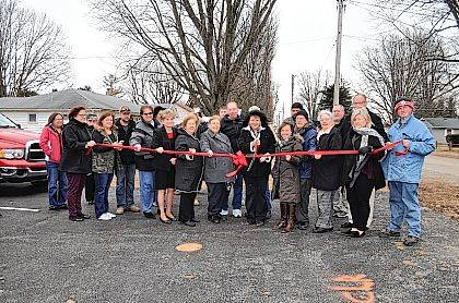 The Champaign County Chamber hosted a ribbon-cutting Feb. 3 at Cornerstone Care Center, 120 E Townsend St., North Lewisburg. Shown are Shawn Stokes, Justin Coyle, Charlie Greer, Carolyn Hayes, Jason Boysel, Sherice Nutt, Elisha Stokes, Tony Williams, George O'Neal, Kirk Koennecke, Pastor Dan Leiker, Ashley Spriggs, Pastor Karen Montgomery, Chrissy Boysel, Ruth Hunsberger, Normadene Schramm, North Lewisburg Mayor Cheryl Hollingsworth, Mary O'Neal, Kim Williams-owner, Chamber Executive Director Lydia Hess, Pat Burkholder, Tammy Leiker and Dylan Adams