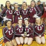 UHS competition cheerleading squad heads to state