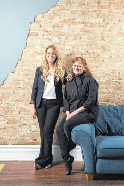 Lyndsey Murphy, left, and her mother, Amy Forrest, own The Hive.
