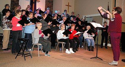 """The Urbana United Methodist Church choir, directed by Jacquelyn Howell, will present the Easter cantata """"Who Is This King?: Royal Servant … Rejected Friend … Risen Christ!"""" by Lloyd Larson and Joseph Martin at 4 p.m. Palm Sunday, March 25. The public is invited to the performance at the church, 238 N. Main St. The choir will be accompanied by pianist Sue Maurice; Carrie Beitzel, Ellie Blanton and Maggie Blanton, violin; Tyler Lookabaugh, double bass; MacKenzie McGill and Theisa Dohner, flute; Karen Hayden and Laura Lynch, clarinet; and Lisa Groves, oboe and English horn."""