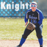 UU infielder Allison Neeld (pictured) had a two-run single in Saturday's first game.