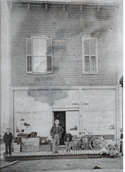 THEN - The wooden building housing the original Rosewood Grocery was built in 1893 by store owner John Birkhold.