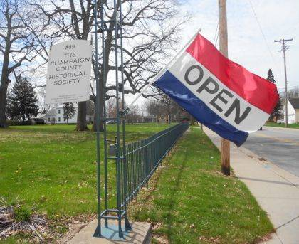 """The Champaign County Historical Society will be open 1-5 p.m. on Sundays starting this Sunday. The museum will continue to be open 10 a.m.-4 p.m. Mondays and Tuesdays. The museum is located at 809 East Lawn Ave., Urbana, and is open to the public free of charge. """"Most Champaign Countians recognize that we are an all-volunteer organization and are not able to hire staff to operate the museum at this time,"""" CCHS President Dan Walter said. """"That said, we have worked hard to recruit additional volunteers and will be opening on Sunday afternoons on a trial basis. We encourage others interested in helping to call the museum at 937-653-6721."""""""