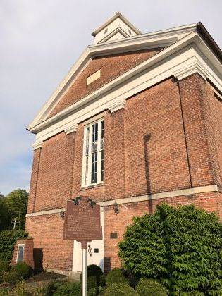 Attend the May 5 open house and see what's being accomplished at the 1858 Meeting House, the former Second Baptist Church.