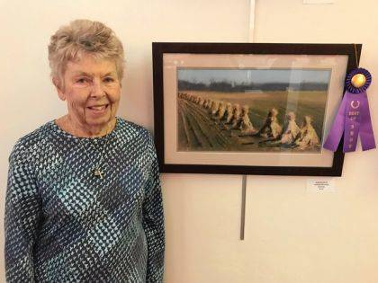 """Best of Show: Lin Wilson, """"North of Us"""""""