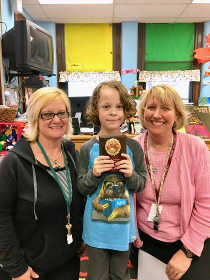 Noah Hayes is an Urbana North Elementary Student of the Month. His teachers are Mrs. Bowdle and Mrs. Monteith.