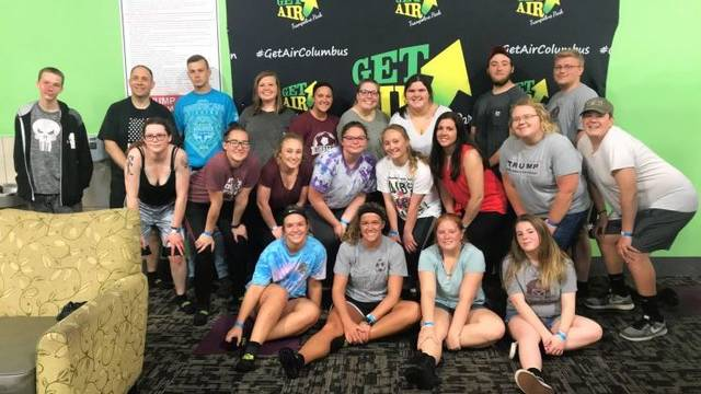 Shown are, top to bottom, left to right, Bryan Daehling, Mr. Wilhelm, Jesse Craig, Janie Wallace, Cady Perry, Taylor Cordial, Ashlyn Dunn, Justin Preece, Nick Crumley, Emily Tate, Ashley Gemienhardt, Kirstin Lewis, Mackenzie Carter, Rachael DuLaney, Mrs. Zachrich, Olivia Maurice, Conor Thomas, Ally Pierce, Magdaline Perry Jess Salyers, Hailey Combs.