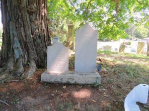 Learn to properly clean gravestones