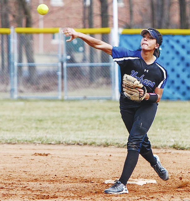 UU softball player Mykee Holtz (pictured) collected postseason honors recently after being named to the All-Mountain East Conference Second Team.