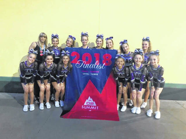 2017-2018 Studio All-Stars Lady Legacy team members are Ava Bostick, Sydnie Hoffman, Taylor Jenkins, Haley Johnson, Madi Jordan, Isis Mescher, Camie Mitchell, Ava Moore, Mady Osborne, Alexis Paul, Emma Pauly, Andrie Rose, Maddie Tarbutton, Isabella Veskauf and Kaydence Waldren. Studio All-Stars teams are coached by Holly McGuire.