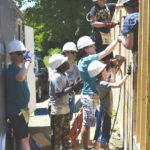 Habitat for Humanity gets help from young builders