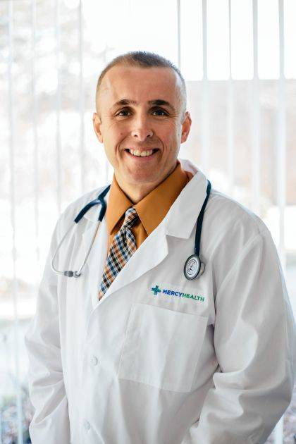 Physician Assistant David Comer