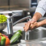 Wash hands properly to prevent foodborne illness