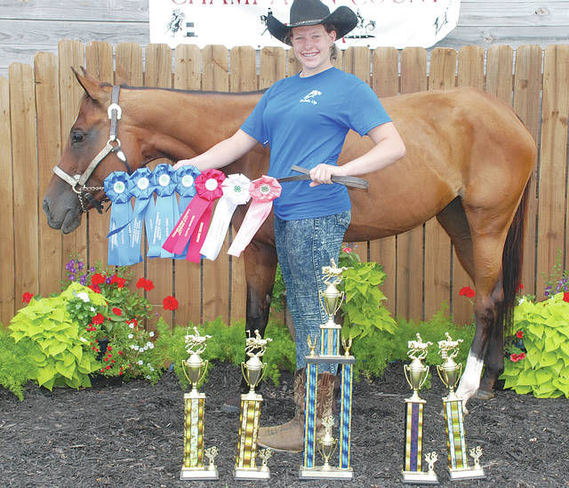 Bailee Magnuson: Champion Junior Contesting, 12-14; Stakes, First Place; Poles, First Place; Keyhole, First Place; Barrels, First Place