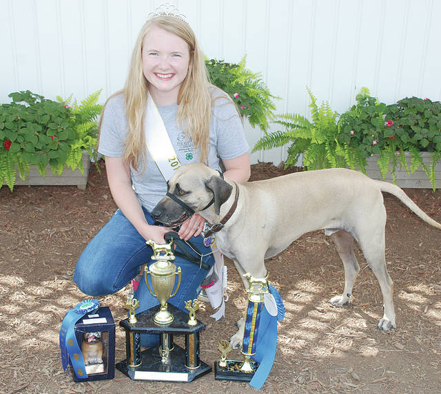 Danielle Mascioni: Champion You and Your Dog, Senior; Champion Obedience, Novice A; Senior Skillathon, Second Place; Most Improved; K-9 Ambassador