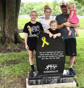 Memorial dedicated on race day