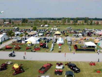 Now in its 56th year, the Farm Science Review offers visitors educational talks, displays and other opportunities presented by educators, specialists and faculty from OSU Extension and Purdue Extension, as well as the Ohio Agricultural Research and Development Center.