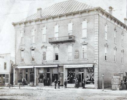 """On Sunday Aug. 19, at 2 p.m. at the Champaign County Historical Society Museum, Dale Thornton, who was born and raised in St. Paris, will present the history of that """"warm and friendly town"""" founded in 1831. The presentation will include photos such as this downtown scene from Thornton's collection. The museum is located at 809 East Lawn Ave., Urbana. The society is an all-volunteer, not-for-profit organization that preserves, protects, archives and displays the artifacts that tell the Champaign County story. The Society depends upon donations and dues to provide a free public museum located at 809 E. Lawn Ave., Urbana. The museum is open from 10 -4 p.m. Mondays and Tuesdays and from 1-4 p.m. Sundays."""