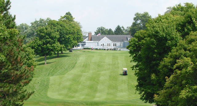 Today, the Urbana Country Club continues to fill a key recreational role in Champaign County after nearly 100 years of legacy. This is the view looking east toward the clubhouse from the 18th tee.