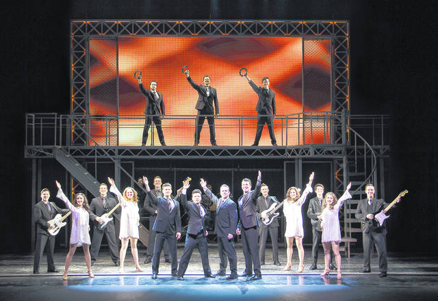 """The National Broadway Tour of """"Jersey Boys"""" arrives in Springfield on Sept. 29."""