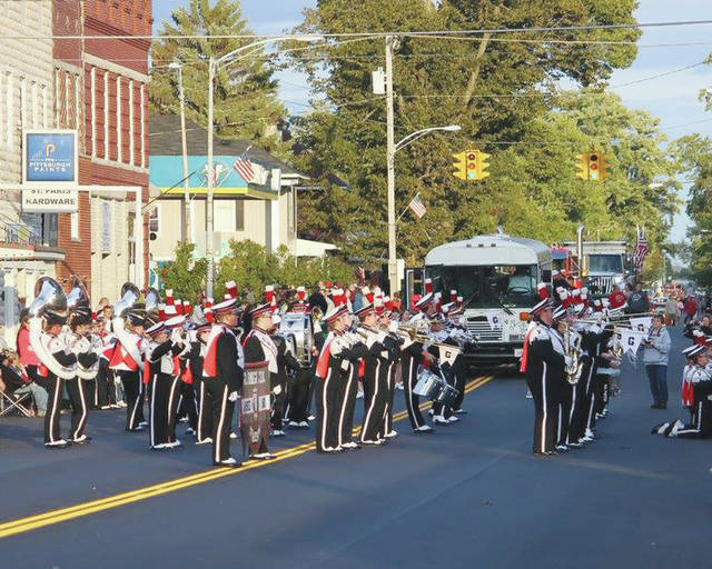 This year's Pony Wagon Days festival kicks off on Thursday. The parade route for this year will start at the intersection of High and Main streets before heading east down Main Street and ending in front of the old junior high school site, 370 E. Main St.