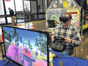 Using virtual reality to promote farm safety