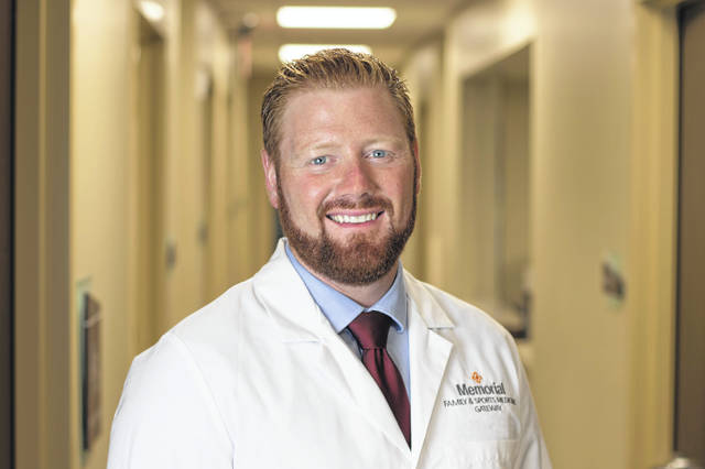 Former Triad High School varsity athlete Ryan Hunt is returning to the area as a doctor with the Memorial Health system.